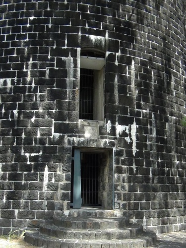 Martello tower wall