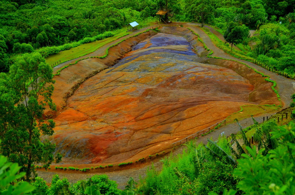 Chamarel Seven Coloured Earth Mauritius