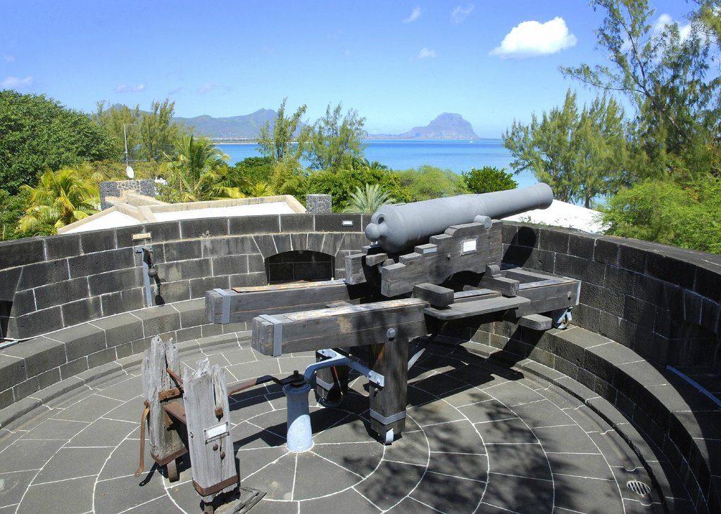 The Martello tower canon ball